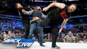 Video: Kelvin Owens and Samy Zany vs Daniel Bryan Raw Highlights 20th March 2018